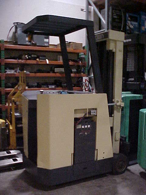 crown stand up forklift manual